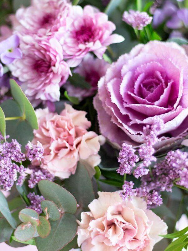 Marshmallow, ramo de flor natural - Loreak