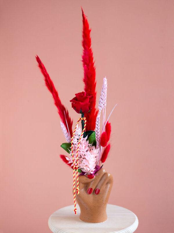 My crush, rosa roja preservada | Loreak